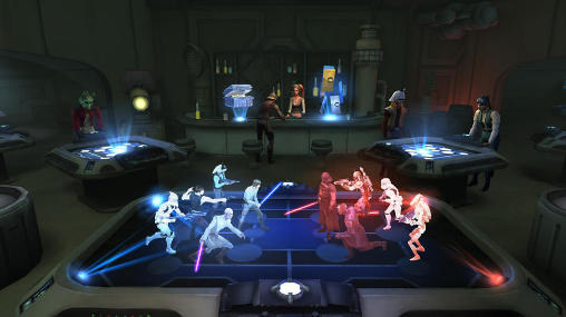 RPG Star wars: Galaxy of heroes pour smartphone