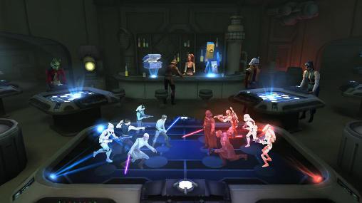 RPG Star wars: Galaxy of heroes für das Smartphone