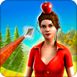 Apple bow shooter: Best 3D archery shooting game Symbol