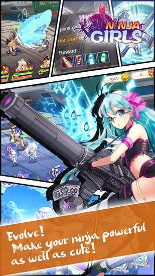 Ninja girls für Android