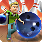 Strike master bowling icon