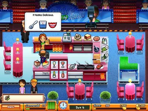 Simulator-Spiele Delicious: Emily's taste of fame für das Smartphone