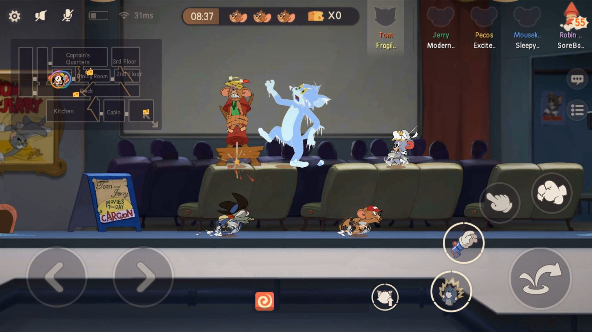 Tom and Jerry: Chase для Android