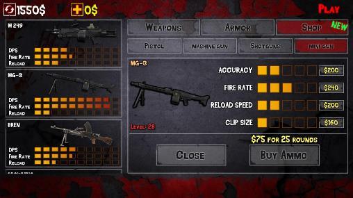 Clash of zombie: Dead fight captura de pantalla 1
