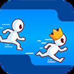 Run race 3D ícone