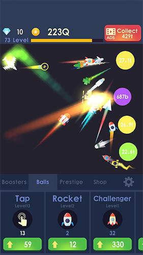 Idle rocket: Aircraft evolution and space battle auf Deutsch