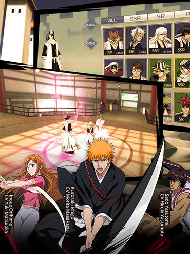 Bleach mobile 3D для Android
