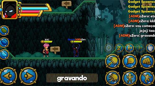 d'arcade Dragon crystal: Arena online pour smartphone