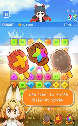 Arcade-Spiele Kemono friends: The puzzle für das Smartphone