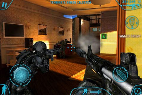 Screenshot Tom Clancy's Rainbow Six: Shadow Vanguard auf dem iPhone