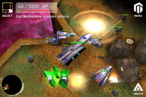 Armada: Guerra de la galáctica para iPhone gratis
