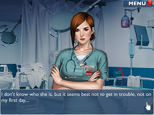Is it love? Blue swan hospital. Choose your story screenshot 1