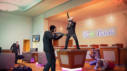 Rival gang: Bank robbery screenshot 2