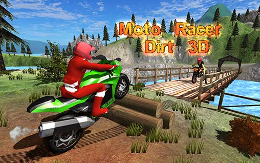 Moto racer dirt 3D Screenshot