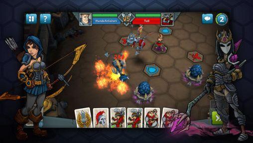 Online Epic arena for smartphone