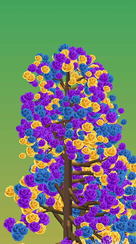 Spintree 2: Merge 3D flowers calm and relax game Screenshot