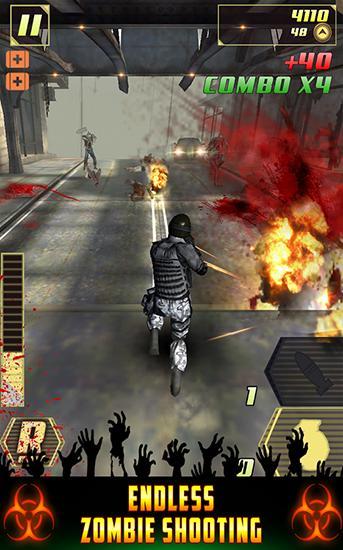 Zombie plague: Overkill combat! скріншот 1