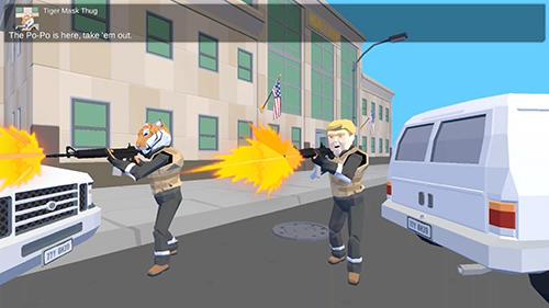 Actionspiele John on fire: A man's cat taken für das Smartphone