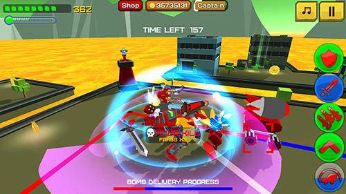 Armored squad: Mechs vs robots for Android