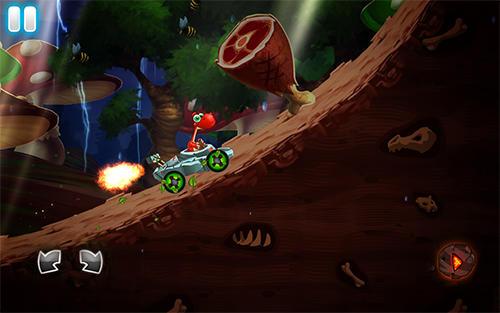 Dino world speed car racing Screenshot