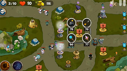 Defend the tower: Castle defence element für Android