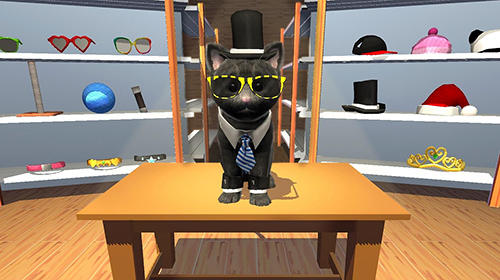 Simulation games: download Daily kitten: Virtual cat pet to your phone