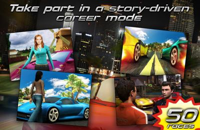 Racing games: download Race illegal: High Speed 3D to your phone