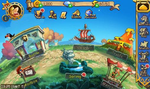 Gods rush screenshot 2