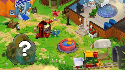 Screenshot Maushaus: Puzzle-Geschichte auf dem iPhone