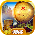 Hidden objects: Ancient city icon