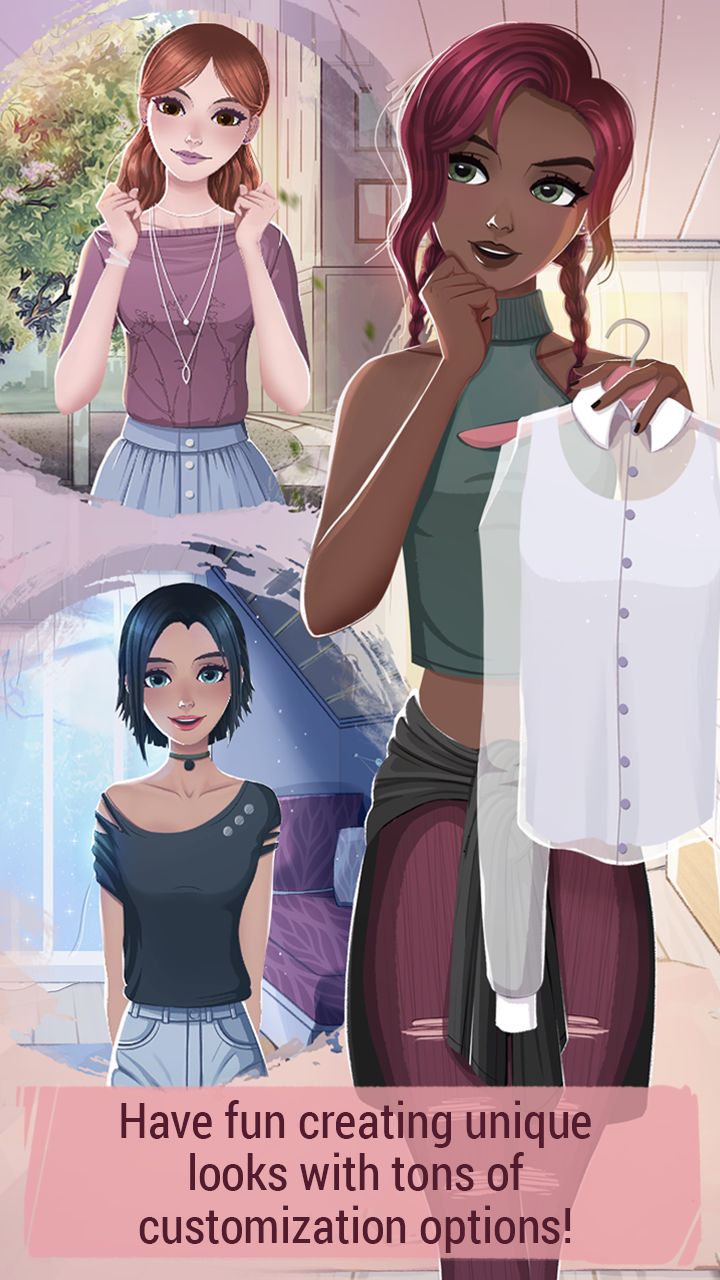 Love Story Games: Teenage Drama screenshot 1