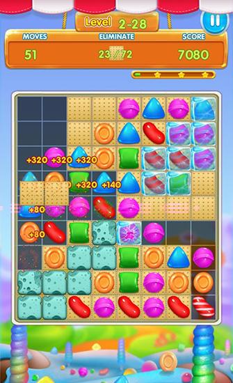 3 Gewinnt-Spiele Candy heroes mania deluxe auf Deutsch