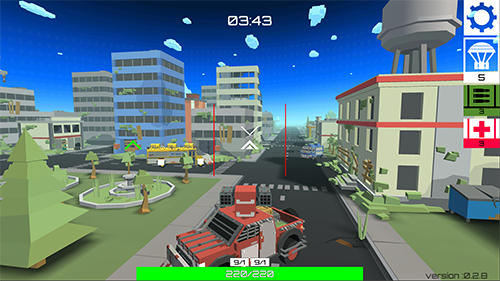 Shooter games CUBG: Car unknown's battle ground in English