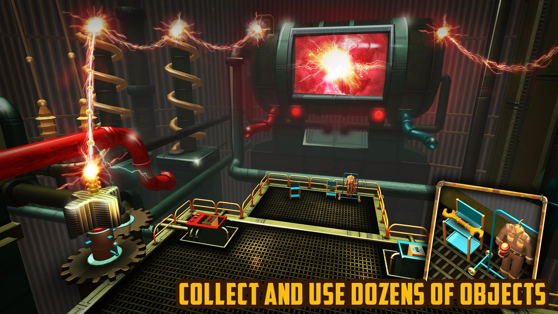 Escape Machine City: Airborne screenshot 1