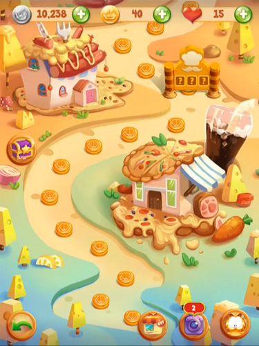 Jefe de cocina de Garfield: Juego de la comida en español