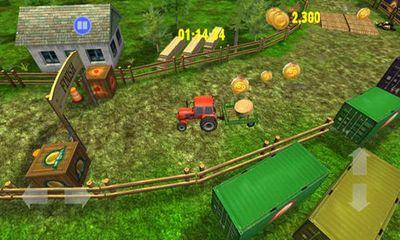 Farm Driver Skills competition capture d'écran
