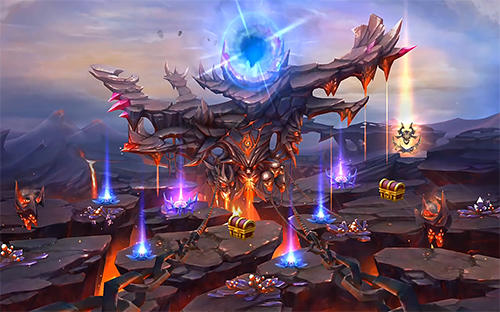 Fantasy-Spiele Legacy of discord: Furious wings auf Deutsch