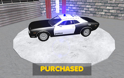 Car games Police car racer 3D in English