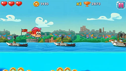 Adventurous fins screenshot 2