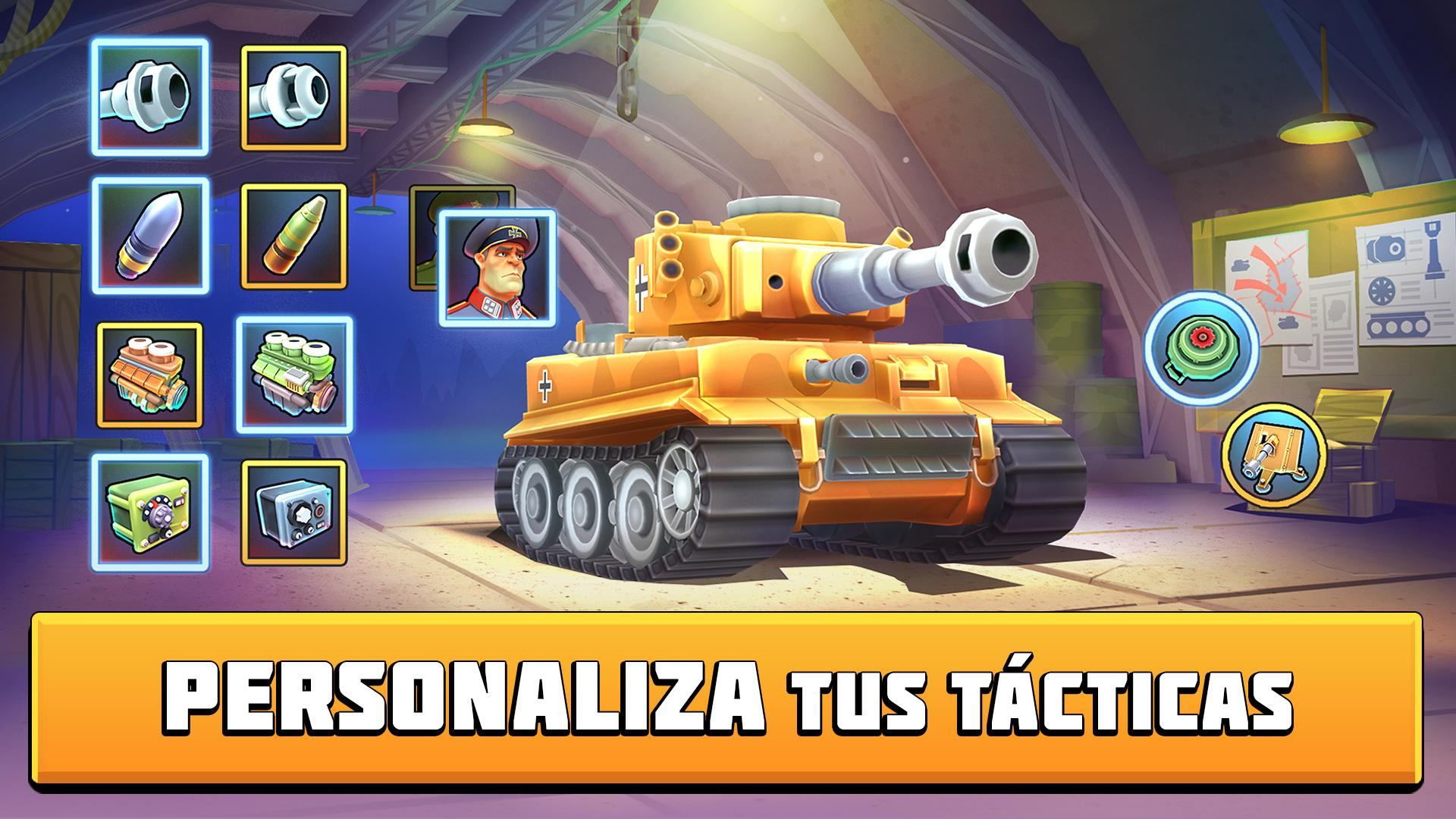 Tanks Brawl : Fun PvP Battles! para Android