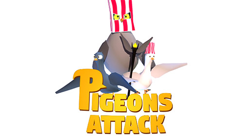 Pigeons attack Screenshot