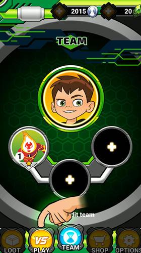 Arcade Ben 10 heroes für das Smartphone