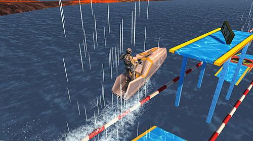 Jetski water racing: Riptide X скриншот 4
