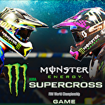 Monster energy supercross game ícone
