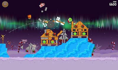 Angry Birds Seasons Winter Wonderham! auf Deutsch