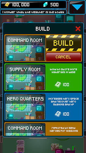 Heroes inc. 2 für Android