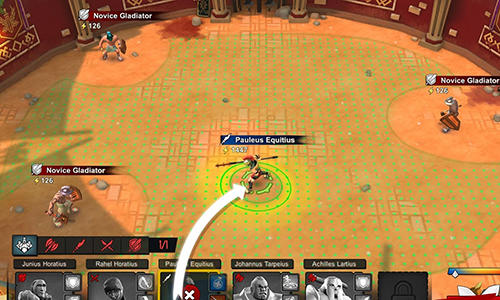 Gladiator heroes captura de tela 1