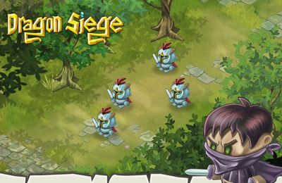 Fighting games: download Dragon Siege to your phone