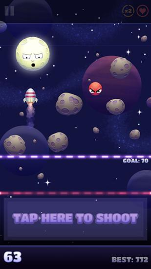 d'arcade Shoot the Moon pour smartphone