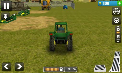 Simulateurs Farming simulator 3D pour smartphone